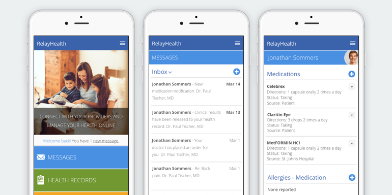RelayHealth Mobile